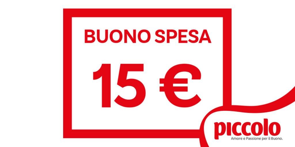 d6ec4d57e484 BUONO SPESA €15
